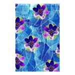 Purple Flowers Shower Curtain 48  x 72  (Small)