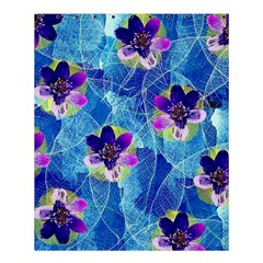 Purple Flowers Shower Curtain 60  X 72  (medium)  by DanaeStudio