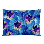 Purple Flowers Pillow Case (Two Sides)