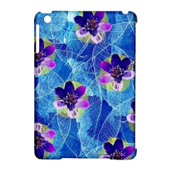 Purple Flowers Apple Ipad Mini Hardshell Case (compatible With Smart Cover) by DanaeStudio