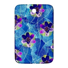 Purple Flowers Samsung Galaxy Note 8 0 N5100 Hardshell Case  by DanaeStudio