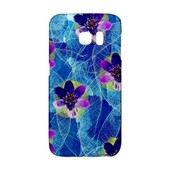Purple Flowers Galaxy S6 Edge by DanaeStudio