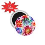 Colorful Succulents 1.75  Magnets (10 pack)