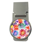 Colorful Succulents Money Clips (Round)