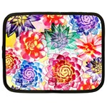 Colorful Succulents Netbook Case (Large)