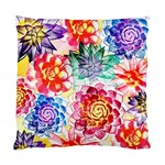 Colorful Succulents Standard Cushion Case (One Side)