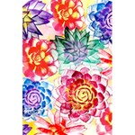 Colorful Succulents 5.5  x 8.5  Notebooks
