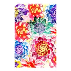 Colorful Succulents Shower Curtain 48  X 72  (small)  by DanaeStudio
