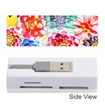 Colorful Succulents Memory Card Reader (Stick)