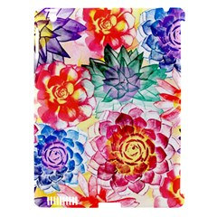 Colorful Succulents Apple Ipad 3/4 Hardshell Case (compatible With Smart Cover) by DanaeStudio