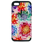 Colorful Succulents Apple iPhone 5 Hardshell Case (PC+Silicone)