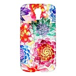 Colorful Succulents Samsung Galaxy S4 I9500/I9505 Hardshell Case