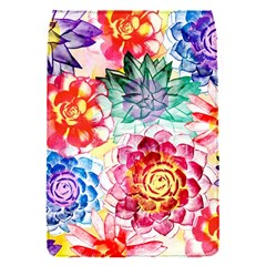Colorful Succulents Flap Covers (s)  by DanaeStudio