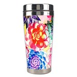 Colorful Succulents Stainless Steel Travel Tumblers