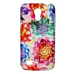 Colorful Succulents Galaxy S4 Mini by DanaeStudio