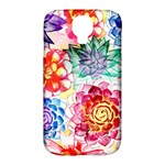 Colorful Succulents Samsung Galaxy S4 Classic Hardshell Case (PC+Silicone)