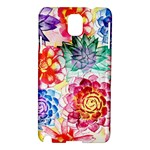 Colorful Succulents Samsung Galaxy Note 3 N9005 Hardshell Case