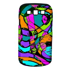 Abstract Sketch Art Squiggly Loops Multicolored Samsung Galaxy S Iii Classic Hardshell Case (pc+silicone) by EDDArt