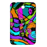 Abstract Sketch Art Squiggly Loops Multicolored Samsung Galaxy Tab 3 (7 ) P3200 Hardshell Case