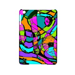 Abstract Sketch Art Squiggly Loops Multicolored Ipad Mini 2 Hardshell Cases by EDDArt