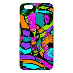 Abstract Sketch Art Squiggly Loops Multicolored Iphone 6 Plus/6s Plus Tpu Case by EDDArt