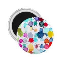 Colorful Diamonds Dream 2 25  Magnets by DanaeStudio