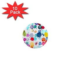 Colorful Diamonds Dream 1  Mini Magnet (10 Pack)  by DanaeStudio