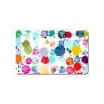 Colorful Diamonds Dream Magnet (Name Card)