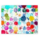 Colorful Diamonds Dream Rectangular Jigsaw Puzzl