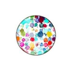 Colorful Diamonds Dream Hat Clip Ball Marker (10 Pack) by DanaeStudio