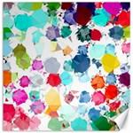 Colorful Diamonds Dream Canvas 16  x 16