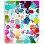 Colorful Diamonds Dream Canvas 11  x 14