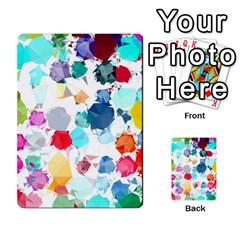 Colorful Diamonds Dream Multi Purpose Cards (rectangle)  by DanaeStudio