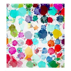 Colorful Diamonds Dream Shower Curtain 66  X 72  (large)  by DanaeStudio