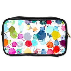 Colorful Diamonds Dream Toiletries Bags by DanaeStudio