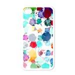 Colorful Diamonds Dream Apple iPhone 4 Case (White)
