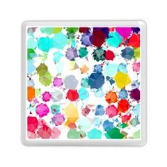 Colorful Diamonds Dream Memory Card Reader (square)  by DanaeStudio