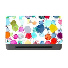 Colorful Diamonds Dream Memory Card Reader With Cf by DanaeStudio