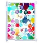 Colorful Diamonds Dream Apple iPad 2 Case (White)