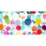 Colorful Diamonds Dream YOU ARE INVITED 3D Greeting Card (8x4)