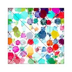 Colorful Diamonds Dream Acrylic Tangram Puzzle (6  X 6 ) by DanaeStudio