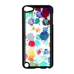 Colorful Diamonds Dream Apple Ipod Touch 5 Case (black) by DanaeStudio