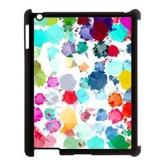 Colorful Diamonds Dream Apple Ipad 3/4 Case (black) by DanaeStudio