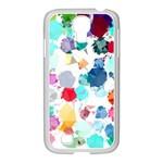 Colorful Diamonds Dream Samsung GALAXY S4 I9500/ I9505 Case (White)