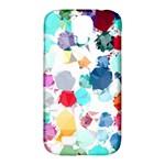 Colorful Diamonds Dream Samsung Galaxy S4 Classic Hardshell Case (PC+Silicone)