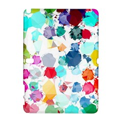 Colorful Diamonds Dream Samsung Galaxy Note 10 1 (p600) Hardshell Case by DanaeStudio