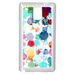 Colorful Diamonds Dream Samsung Galaxy Note 4 Case (White)