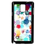 Colorful Diamonds Dream Samsung Galaxy Note 4 Case (Black)