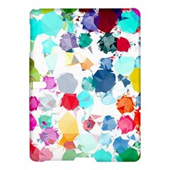 Colorful Diamonds Dream Samsung Galaxy Tab S (10 5 ) Hardshell Case  by DanaeStudio