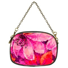 Geometric Magenta Garden Chain Purses (two Sides)  by DanaeStudio